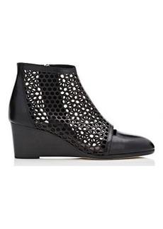 Zero + Maria Cornejo Women's Laser-Cut Ophellis Wedge Boots