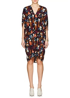 Zero + Maria Cornejo Women's Mala Stretch-Silk Cocoon Dress