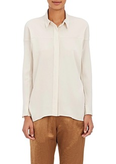 Zero + Maria Cornejo Women's Manu Stretch-Silk Blouse