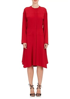 Zero + Maria Cornejo Women's Mika Crepe Tunic Dress