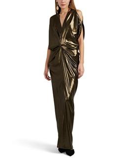 Zero + Maria Cornejo Women's Miu Metallic Gown