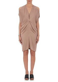 Zero + Maria Cornejo Women's Miu Twill Draped Dress