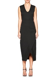 Zero + Maria Cornejo Women's Mylla Matelassé Wrap Dress