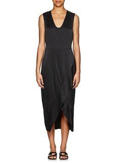 Zero + Maria Cornejo Women's Mylla Silk Charmeuse Wrap Dress