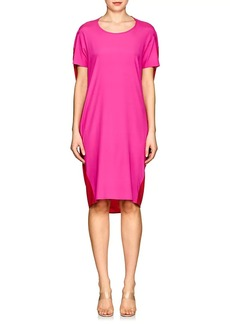 Zero + Maria Cornejo Women's Pod Colorblocked Silk Dress