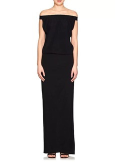 Zero + Maria Cornejo Women's Revi Silk Charmeuse Maxi Dress