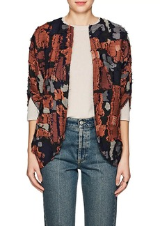 Zero + Maria Cornejo Women's Rio Cotton-Blend Jacquard Shrug