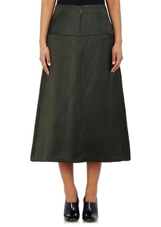 Zero + Maria Cornejo Women's Satin Drop-Waist Skirt