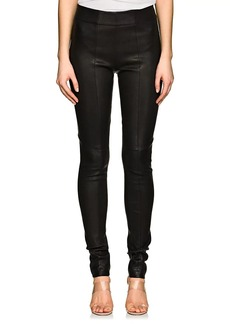 Zero + Maria Cornejo Women's Stretch Leather Skinny Leggings
