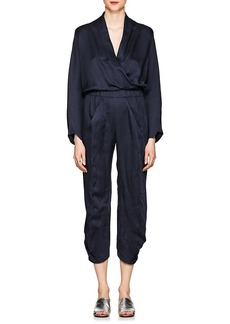 Zero + Maria Cornejo Women's Takeo Twill V-Neck Jumpsuit