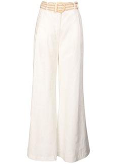 Zimmermann Amelie Linen Wide Leg Pants