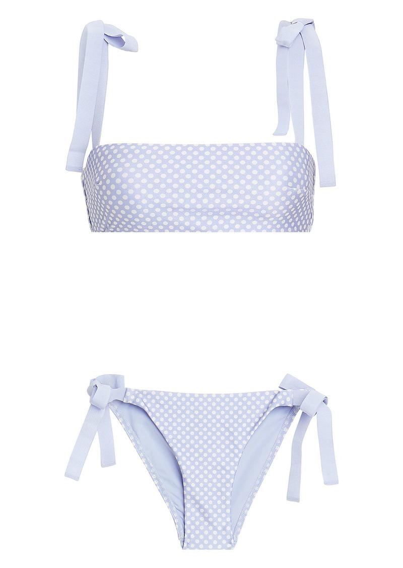 3083f3546c Zimmermann Bow Tie Bandeau Bikini   Swimwear