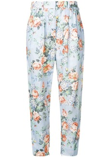 Zimmermann Bowe floral trousers