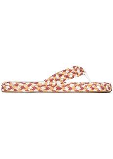 Zimmermann braided flip flops