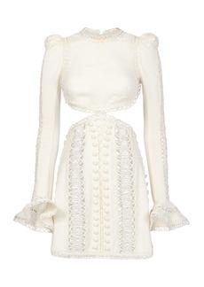 Zimmermann Breeze Corded Mini Dress