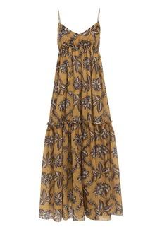 Zimmermann Castile Tiered Maxi Dress