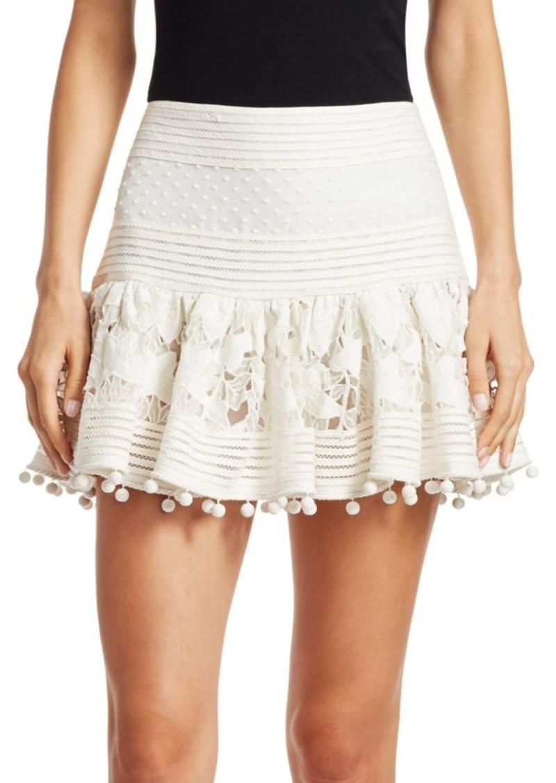 6b6a6bfba0fa Zimmermann Corsage Embellished Mini Skirt | Skirts