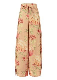 Corsair Floral Wide Leg Pants
