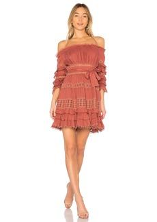 Zimmermann Corsair Frill Tier Dress