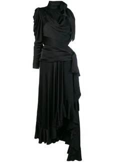 Zimmermann draped cut out long dress