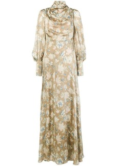 Zimmermann draped long dress