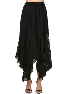 Zimmermann Embroidered Silk Long Skirt