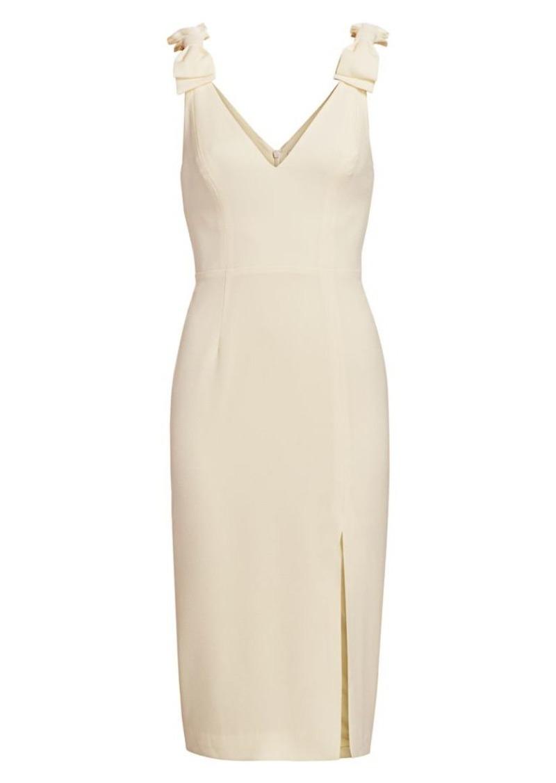 Zimmermann Espionage Stretch-Silk Sheath Dress