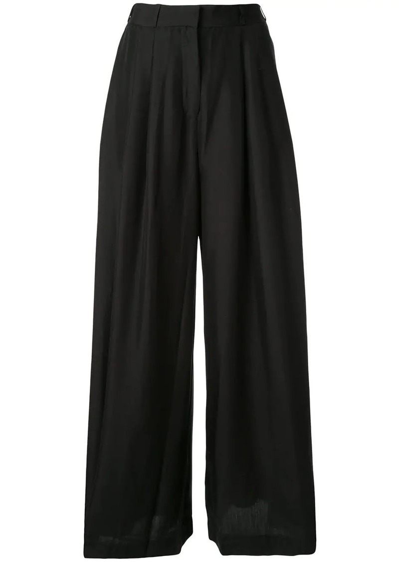 Zimmermann Espionage wide-leg trousers