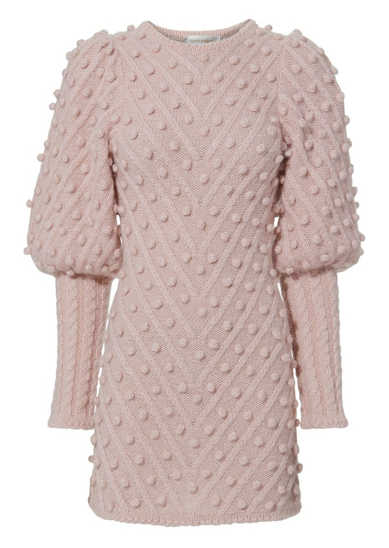 acbcc3b9b42 Zimmermann Fleeting Bauble Sweater Dress