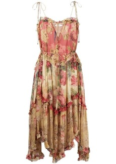 Zimmermann float midi dress