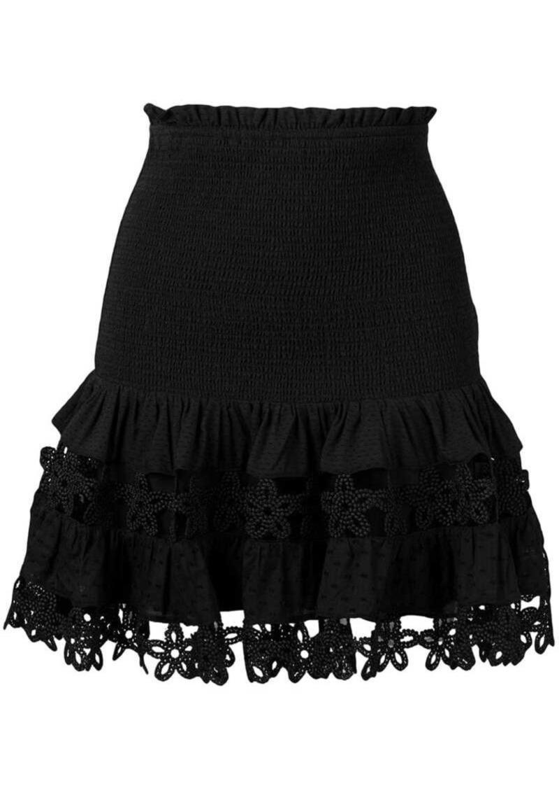 0ab3551378 Zimmermann floral crochet skirt | Skirts