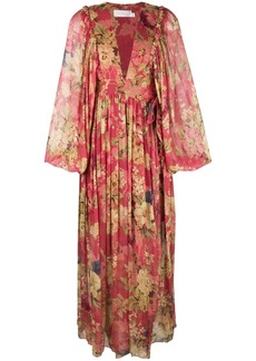 Zimmermann floral flared dress
