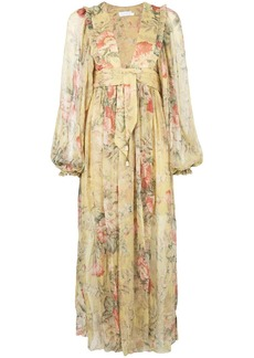 Zimmermann floral maxi dress