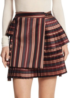 Zimmermann Folly Uniform Striped Skirt