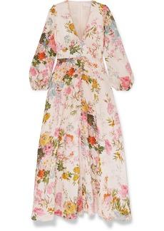 Zimmermann Heathers Floral-print Linen Maxi Dress