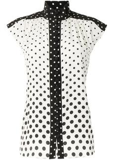 Zimmermann high-neck silk blouse