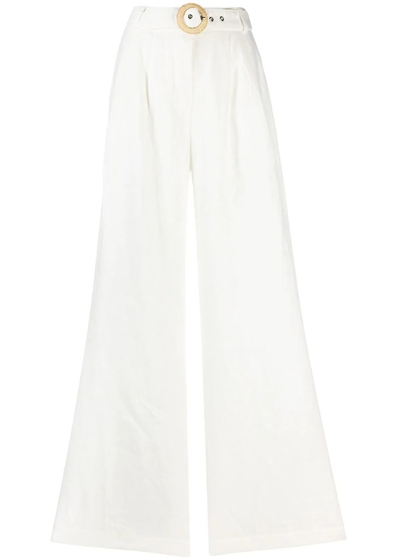 Zimmermann high-rise wide-leg trousers