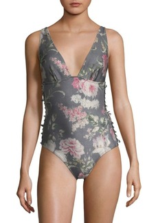 Zimmermann Iris One-Piece Swimsuit