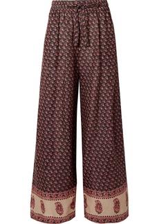 Zimmermann Jaya Printed Linen Pants