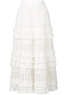 Zimmermann layered frill skirt