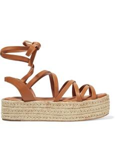 Zimmermann Leather Espadrille Platform Sandals