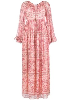 Zimmermann long bohemian dress