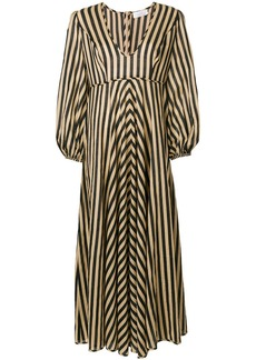 Zimmermann longsleeved striped dress