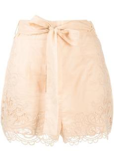 Zimmermann Lulu scallop shorts