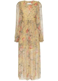 Zimmermann Melody wrap maxi dress