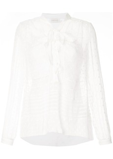 Zimmermann polka dot blouse