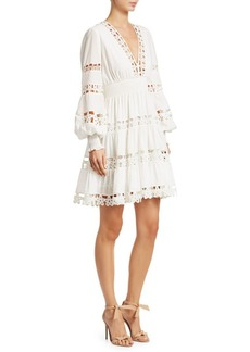 Zimmermann Primrose Daisy Lace Mini Dress