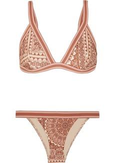 Zimmermann Primrose Printed Triangle Bikini