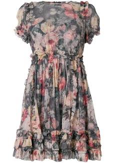 Zimmermann Radiate Ruffle Mini dress