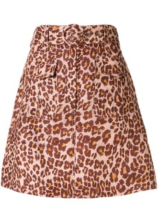 Zimmermann Resistance mini skirt